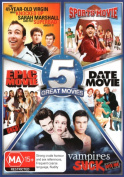 Spoof 5-Pack (The 41-Year-Old Virgin who Knocked Up Sarah Marshall and Felt Superbad About It/Sports Movie/Epic Movie - Uncut/Da [Region 4]