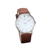 Fashion Watches ,New Womens Retro Design Leather Band Analogue Alloy Quartz Wrist Watch