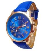 Fashion Watches ,Women Stylish Numerals Faux Leather Analogue Quartz Wrist Watch