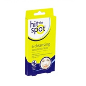 Hit The Spot Pack Of 6 Cleansing Chin & Forehead Pore Strips With Witch Hazel