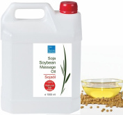 Soybean Oil 100% Natural Soya Carrier Oil Professional Massage