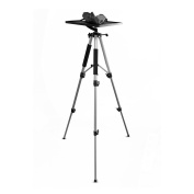 Pyle Video Projector Mount Stand, Adjustable Height 50cm -150cm , Rotating Stand, Tripod Legs, Anti Slip Rubber, Easy Assemble, Includes Plate and Travel Bag For Home, Office or Classroom