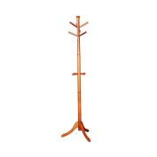 ZJM- Wood Clothes Tree Simple Hatstand Coatrack Hat Rack Crotch Base 182cm