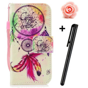 TOYYM Samsung Galaxy J5 2017 Case(American Version),Samsung Galaxy J5 2017 Case Leather Wallet with Unique Paiting Pattern Design,Bookstyle PU Leather Flip Cover Stand Function Protection Case with Card Slots Magnetic Closure Wrist Strap for Samsung Ga ..