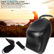 For DJI Goggles VR Glasses Case, Leewa@ PU Waterproof Hard Storage Carrying Bag