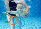 Swimming/Diving Pool Toy Ring Recreation Underwater Sports