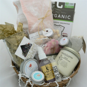 Oganic All Natural gift basket for baby and mother