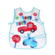 Baby Bibs, Inkach Toddler Boys/Girls Waterproof Feeding Apron Newborn Saliva Towel Bib Smock