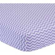 Garanimals Chevron Wave Sheet   200 Thread Count   Colorfast
