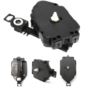 Black Replacement DIY Quartz Clock Pendulum Movement Mechanism Motor & Hanger