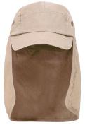 Unisex Quick Dry Sun Protection Outdoor Safari Hat Fishing Hiking Neck Flap Hat