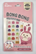 Bong Bong Non-Toxic Nail Art Stickers For Children 3-7yo – Colourful, Cute, Girlish, Super Hero, Glitter – Long Lasting (30 Stickers) - Princess Mix