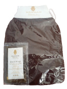 HAMMAM BEAUTY BODY GLOVE BROWN WITH BLACK SOAP