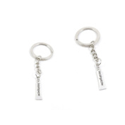 2 Pieces Keychain Keyring Door Car Key Chain Ring Tag Charms Supply R0AS8M Toothpaste