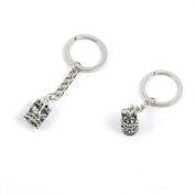 1 Pieces Keychain Keyring Door Car Key Chain Ring Tag Charms Supply P8RM8X Merry-go-round