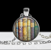 Book Jewellery, Book Pendant ,Love Books Literary Necklace, Library Jewellery, Book Lovers Gift ,Bookworm Necklace