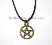 Simple Small Pentagram Necklace , Small Pentacle Necklace , Silver Pentagram Necklace , Wicca Jewellery , Wiccan , Pagan , Handmade Jewellery