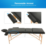 Abody Portable 210cm L Folding Massage Table Bed Facial SPA Bed Tattoo Beauty Salon Device
