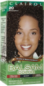 Balsam Hair Colour, #20 Darkest Brown 1 kit