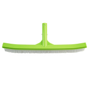 46cm Lime Green Curved Swimming Pool Wall and Floor Brush Head