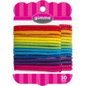 Gimme Rainbow Fabric Elastics, 30 count