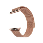 Milanese Loop for Apple Watch 38mm- Rose Gold