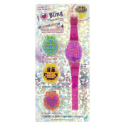 Expressions Girl I Love Bling Lip Gloss Watch & 3 Refills