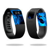 Skin Decal Wrap for Fitbit Charge cover sticker skins Blue Flames