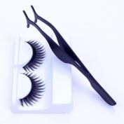 Eyelash Curlers ,Livoty Hot False Eyelashes Extension Applicator Remover Clip Tweezer Nipper Beauty Tool