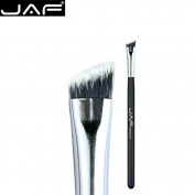 JAF Angled Eyeliner Brush - Multipurpose Makeup Brushes Professional Eco-friendly, Synthetic Hair, Mixed Cream, Liquid, Perfect Concealer Your eyebrow, Master Quality。05SSYA-B