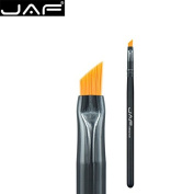 JAF Winged Liner Brush- Multipurpose Makeup Brushes Professional Eco-friendly, Synthetic Hair, Mixed Cream, Liquid, help you draw Winged Liner , Master Quality。03SHA-B