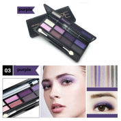 Eyeshadow Palette Kit, Inkach 8 Colours Womens Girls Eye Shadow Cosmetics Palette Set for Home Professional Use