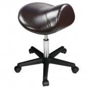 Master Massage Ergonomic Swivel Saddle Stool, Posture Chair with a Durable Pneumatic Hydraulic Lift