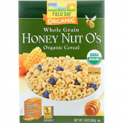 Field Day Cereal - Organic - Whole Grain - Honey Nut Os - 410ml - Case Of 10 410ml