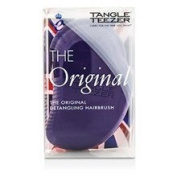 Tangle Teezer The Original Detangling Hair Brush # Candy Cane (for Wet & Dry Hair) 1pc