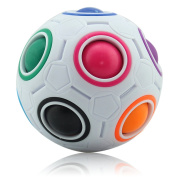 Magic Rainbow Ball Puzzle Fidget Educational Toy