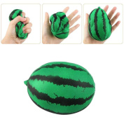 TIREOW Cute Fruit Jumbo Green Watermelon Squishy Scented Squeezing Slow Rising Toy Gift