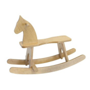 Lapps Toys & Furniture 186 H Wooden Rocking Horse Toy, Harvest