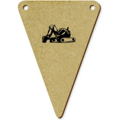 5 x 70mm 'Digger' Wooden Bunting Flags