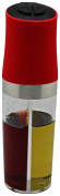 Iris 3067-pr – Bottle of Oil and Vinegar, Plastic, red