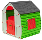 Starplay Magical Playhouse, Classic Colour Combination/Red/Green/Grey/Beige