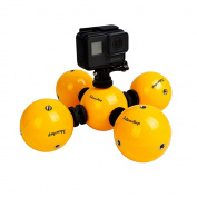 Ideashop Underwater Action Camera Floating Ball Buoyancy Ball Mini Waterproof Floaty Holder/Gadget Photography Float Protective for Gopro 1 2 3 3+ 4 5 Camera Hero, Multi-function Surfing Diving Swimming Buoy Ball for Xiaomi Yi 4K SJCAM