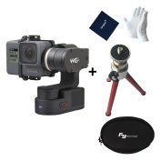 Feiyu Tech WG2 WaterProof Wearable Gimbal for GoPro Hero5 / 4 / Session and Similar Dimensions Action Camera + 1 pcs of Tripod
