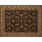 Loloi Stanley 2.1m x 3m Power Loomed Rug in Chocolate and Beige