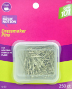 Dritz Sewing 101 S101 Dressmaker Pins 250 Ct Sewing 101 Size 20 250Ct
