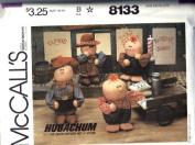 McCalls 8133 Hugachum Doll Pattern UNCUT