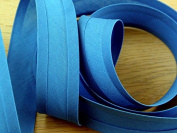 100% Cotton Double Fold Bias Binding Trimming - per 5 metres