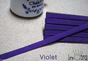 4Yds Bias Tape Poly Cotton trim 10mm Solid colour double fold