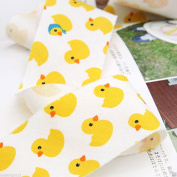 10Yds Bias Tape binding Cotton trim 3.7cm Bias Cut cosy Rubber Duck