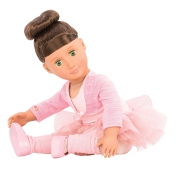 Our Generation Sydney Lee-Deluxe Doll and Book Toy, 46cm